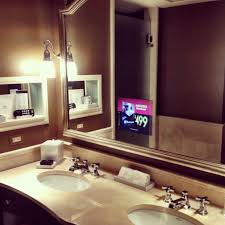 Tv In Mirror Bathroom by Birthday Fun At The Jefferson Hotel Washington Dc Shayla