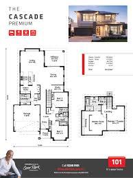 Cascade Floor Plan by Premium Cascade 101 Residential