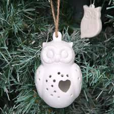 Ceramic Christmas Tree Decorations - white christmas decorations