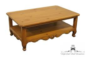 Used Coffee Tables by High End Used Furniture Ethan Allen Legacy Collection 46 U2033 Coffee
