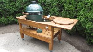 Green Egg Table by Big Green Egg W Table Pics The Hull Truth Boating And Fishing