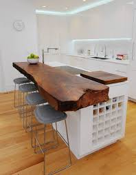 Slab Wood Bar Top Live Edge Wood Furnishings With A Slice Of Nature Wsj