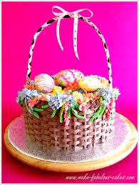 beautiful easter baskets easter basket cake
