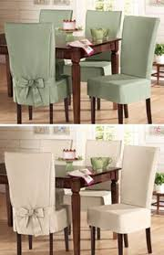 Dress Up Your Dining Chairs With Unique Slipcovers Dining Chairs - Dining room chair slip covers