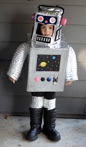 Halloween Astronaut Costume Diy Space Robot Costume Robot Costumes Robot Costumes