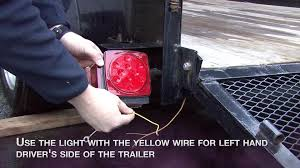 blazer c7280 led low profile submersible trailer light kit for