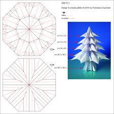 abete 3 fir tree 3 crease pattern designed by francesc u2026 flickr