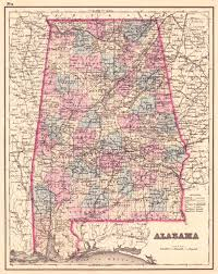 State Of Alabama Map by File 1876 Map Of Alabama Counties Jpeg Wikimedia Commons