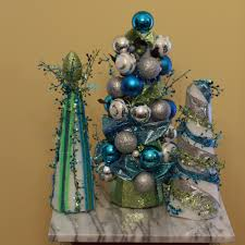 southern scraps ribbon and ornament trees