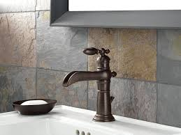 Bronze Faucets For Bathroom by Delta Faucet 554lf Rb Victorian Single Handle Single Hole