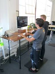 Make A Standing Desk by Desk What Is A Standing Desk What Is The Height Of A Standing