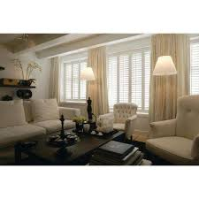 Plantation Shutters And Drapes Home Decorators Collection Window Treatments The Home Depot