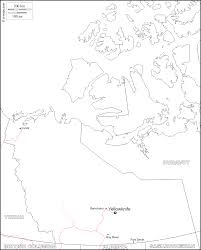 Blank Map Of Canada by Northwest Territories Free Map Free Blank Map Free Outline Map
