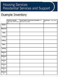 blank inventory template inventory list template 4 free word