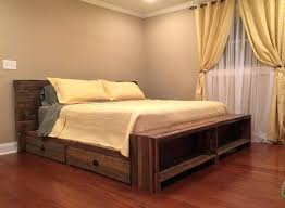 Queen Bed Frame And Mattress Set Bed Frames Queen Upholstered Bed Frame Queen Size Storage Bed