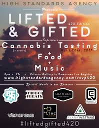 lifted u0026 gifted 420 a cannabis tasting dinner party tickets