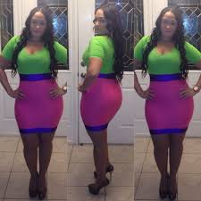 new arrival plus size club dresses green pink short sleeve