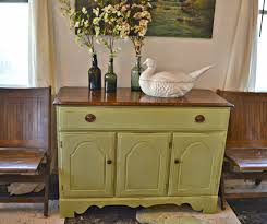 heir and space a temple stuart sideboard in pale green