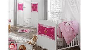 babyzimmer rosa kate kinderzimmer in weiß und rosa 3 teilig