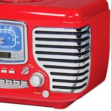 Crosley Radio Parts Crosley Radio Cr612 Re Corsair Cd Player Red Walmart Com