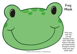 frog mask printable