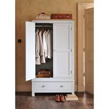 Ivory Painted Bedroom Furniture by Portland Grey Gents Wardrobe From The Cotswold Company Free
