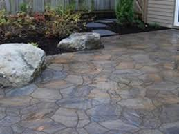 stone pavers patio patio stone designs concrete paver patio