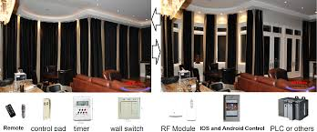 10ft window curtain drapery remote control track system ebay