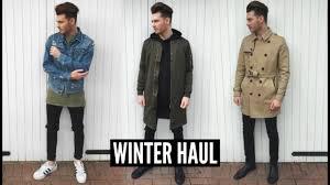 mens fashion haul winter 2016 fall lookbook ad youtube