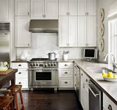 White Cabinets Dark Grey Countertops Stamford Kitchen Detail Traditional Kitchen Austin By Hugh