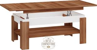 modern adjustable coffee table matt or high gloss for living