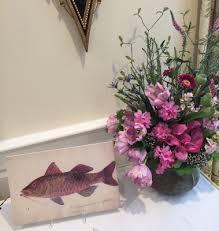Flowers In Denton - denton watercolors in bloom
