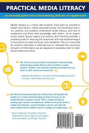 practical media literacy an essential guide to the critical