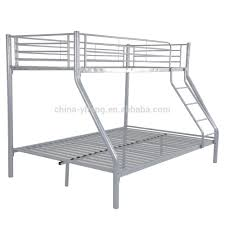 Steel Frame Bunk Beds by Metal Bunk Bed Frame Beds With Futon D Msexta