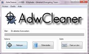 comment installer adwcleaner sur le bureau désinstaller search settings
