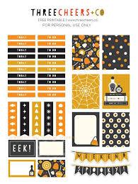 free printable halloween planner stickers u2026 pinteres u2026