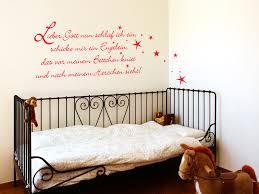 wandtattoos für kinderzimmer wandtattoo gute nacht gebet lieber gott schlaf ich ein