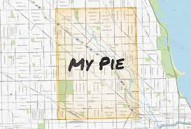 Chicago Lakeview Map by Chicago Pizza Delivery Map Piece Salernos Pequods And More