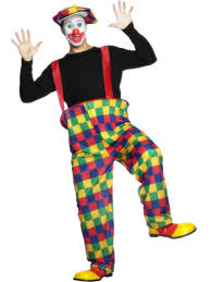 clown costume when petruchio was going to katherine he wore a