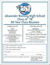 class reunions website ramsey class of 1978