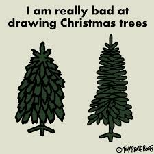 21 12 14 bad at drawing christmas trees by tinypirateboots on