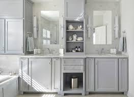 Gray Bathroom - gray cream bathroom1 10 stylish colored bathrooms modern sleek
