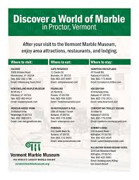 Comfort Inn Rutland Vermont Group Tours Vermont Marble Museum