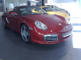purple porsche boxster porsche showroom in mumbai peddar road page 5 team bhp