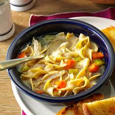 Dinner Ideas For Cold Weather Cold Day Chicken Noodle Soup Recipe Taste Of Home
