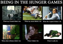 Hunger Games Memes Funny - being in the hunger games meme hunger games fandom
