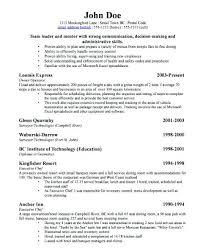 Resume For Business Owner Business Sample Resume Business Owner Resume Sample To Inspire You