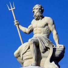 greek gods statues god of the seas poseidon egyptian artifacts pinterest