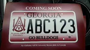 of alabama alumni car tag aamu car tags are coming to alabama a m