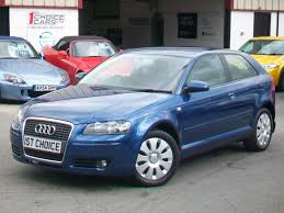 used 2007 audi a3 special edition finished in mauritius blue pearl